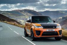 Range Rover Sport SVR (2018)