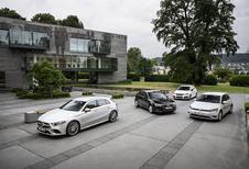 Mercedes A-Klasse vs 3 compacte middenklassers