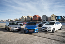 Ford Focus contre 5 rivales