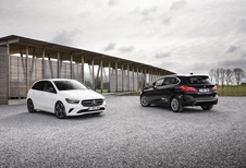 BMW 218i Active Tourer 136 A vs Mercedes B 180 A
