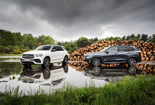 BMW X5 XDRIVE30D // MERCEDES GLE 300 D 4MATIC: chief executive vehicle