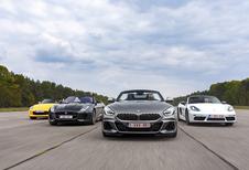 BMW Z4 tegen 3 rivalen