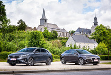 Hyundai i30 Fastback vs Kia Proceed