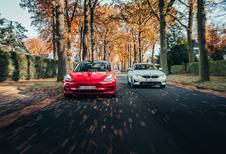 BMW 330e // TESLA MODEL 3 STANDARD PLUS : OP DE MAAT VAN DRIE