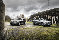 BMW X5 45e vs Mercedes GLE 350 de
