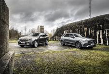 BMW X5 45e vs Mercedes GLE 350de