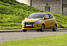 Mitsubishi Space Star 1.2 A : quand on arrive en ville