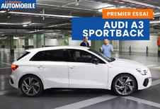 Essai vidéo de l'Audi A3 Sportback
