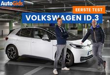 Wegtest Volkswagen ID.3 (video)