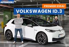 Essai vidéo de la VW ID.3