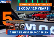 Wij bezoeken de expo 125 jaar Skoda in Autoworld