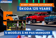 Skoda 125 Years à Autoworld: 5 modèles à ne pas manquer