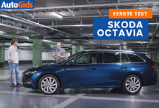 Wegtest Skoda Octavia Combi (video)