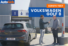 Wegtest Volkswagen Golf (video)