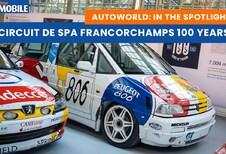 Visite de l'exposition Spa-Francorchamps 100 Years à AutoWorld