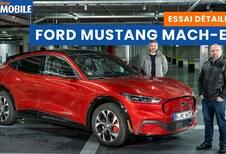 Ford Mustang Mach-E : essai vidéo du SUV électrique