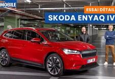 Essai vidéo de la Skoda Enyaq iV : le SUV électrique tchèque