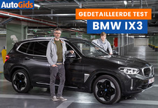 Wegtest BMW iX3 (video)