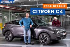 Essai vidéo de la Citroën C4