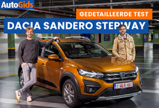 Wegtest Dacia Sandero Stepway (video)