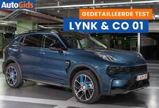 Wegtest Lynk & Co 01 Plug-in Hybrid (video)
