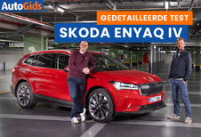 Wegtest Skoda Enyaq iV (video)
