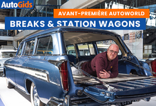 Expo Breaks & Station Wagons in AutoWorld (video)