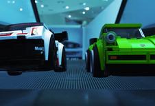 Lego gaat loos in het Porsche Museum