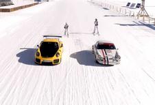Sneeuwsport à la Porsche - 911S versus GT2 RS
