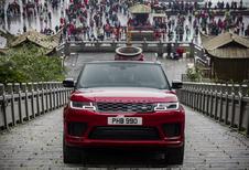 Range Rover Sport PHEV versus de Dragon Road