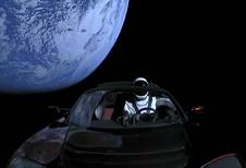 Webcam Tesla Roadster stuurt live beelden door vanuit de ruimte