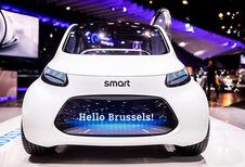 Elektrische auto's op het Autosalon van Brussel 2019
