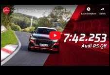 Audi RS-Q8 kroont zich tot snelste SUV op de Nürburgring