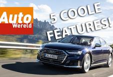 Audi S8 - ontdek de 5 coolste features!