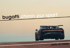 Bugatti Chiron Pur Sport vliegt over Nardo!