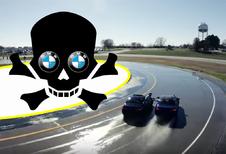 BMW M5 drift zich naar twee waanzinnige Guinness-records