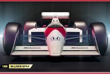 Codemasters zegent F1 2017 met legendarische racewagens van Senna en Schumacher
