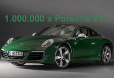1.000.000 Porsches 911 per minuut