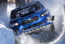 Deze Subaru WRX STI wil een bobslee zijn