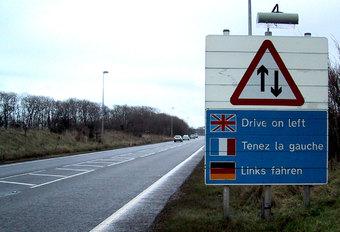 In 2030 moet heel Europa rechts rijden #1