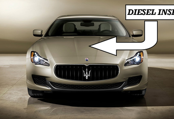 Jawel, ook Maserati Quattroporte aan de diesel #1