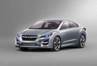 STIJLBREUK: Subaru Impreza Concept #1