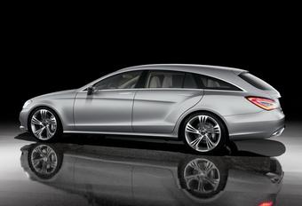 STUTTGART BEVESTIGT: Mercedes CLS Shooting Brake #1
