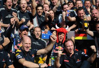 DE WEG NAAR SUCCES: Red Bull Racing #1