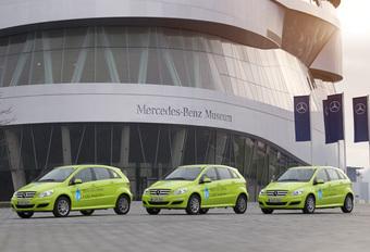 DE WERELD ROND: Mercedes B-Klasse F-Cell #1