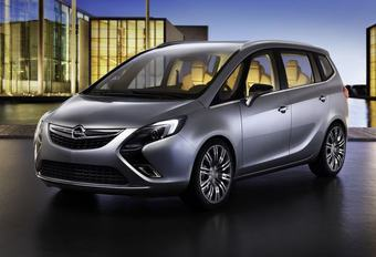 7-UP: OPEL ZAFIRA CONCEPT #1