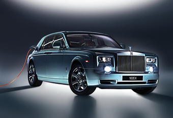 Rolls-Royce 102EX is elektrische Phantom #1