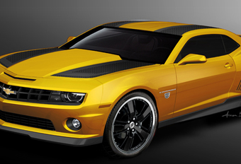 LEUKER DAN DE FILM: Chevrolet Camaro Bumblebee (Transformers 3) #1