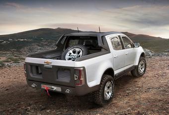 DAKAR-KLAAR: Chevrolet Colorado Rally Concept #1