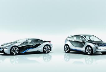 ELEKTRISCH VANAF 2013: BMW i3 en i8 #1